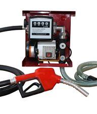 Pumpe 230V Dieselpumpe Set Tankstelle für Diesel Heizöl betanken 60 Liter / min