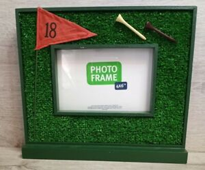 "Kohl's Brand, Golf Themed Photo Frame, 4x6"", Golf, Tee, Office"