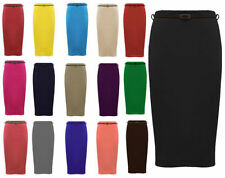Unbranded Business Polyester Plus Size Skirts for Women