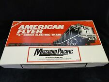 NIB American Flyer 6-49601 Missouri Pacific PA-1 Passenger SET with EXTRA CARS