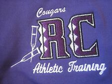 Sport Tek Purple Polyester Athletic Polo Shirt R C Cougars Size XL