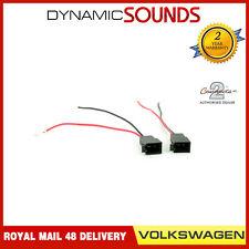 CT55-VW01 Car Speaker Adaptor Plug Lead Connectors for Volkswagen Sharan 1995>