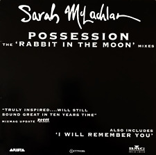"""SARAH MCLACHLAN - Possession (Rabbit In The Moon Mixes) (12"""") (Promo) (VG/G+)"""