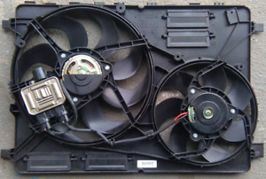 volvo xc60 s60 s80 T6 xc70 dual cooling fan w/module 08-17 31338823 TESTED