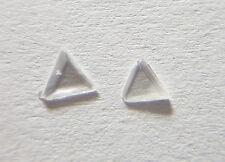 Natural Diamond Flat Polki (Rose Cut) VS-SI Clarity F-G Color 2pc Pair Nontreate