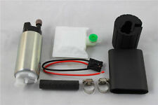 255LPH Universal Electric Fuel Pump Install Kit High Performance Flow Pressure