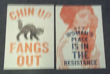 cause  WOMENS MARCH LOT OF 2 POSTERS.