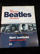 The Complete Beatles Chronicle by Mark Lewisohn Coffee Table Book softcover
