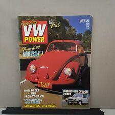 Australian vw power collectors issue no.2 volkswagen- kombi- beetle