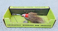 Shannon Twin Spinner Bucktail Jamison Company Chicago Original Box Vintage