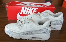 NIKE AIR MAX 90 LTR  SE 66 Size 6.5Y 897987-100 Summit White IN BOX