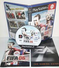 FIFA FOOTBALL 2006 6 06 - Playstation 2 Ps2 Play Station Gioco Game Sony