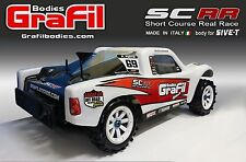 Losi 5ive T body - name: SCRR - 1 piece clear 1:5 body - made by GraFil Bodies