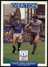 Everton 1987/88 Division 1 and FA Cup Programmes (16 of)