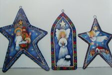 "Rosemary West tole painting pattern ""Starry Night Ornaments"""
