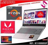 PORTATIL LENOVO V155 15API AMD RYZEN 3 3200U 15.6 8GB 256GB SSD FREEDOS TECLA Ñ