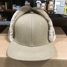 (1) (BEIGE) Pugs Gear Hat, Furlike  Earflap.Retail Price $16.95.BID NOW! GIFTS?
