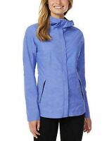 Ladies 32 Degrees Waterproof Rain Jacket Coat Packable Breathable Blue S M L XL