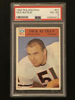 Dick Butkus, 1966 Philadelphia Rookie Card.  PSA 4.  Chicago Bears Legend