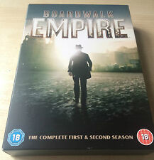 New Boardwalk Empire Season 1 & 2 DVD R2 Boxset