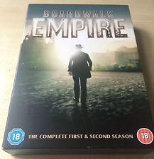 New Boardwalk Empire Season 1 & 2 DVD R2 Boxset