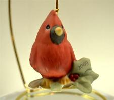 Precious Moments Ornament Dated 2009 Cardinal On Branch 910007 Bx FreeusaShp