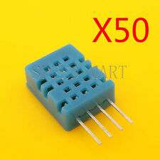 50 PCS 5V SIP-4 DHT11 Digital Temperature Humidity Sensor Probe For HVAC Arduino