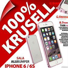 Krusell Sala Alubumper Case for Apple iPhone 6 / 6S Cover Slim Aluminium Bumper