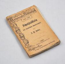 Schatzkästlein des rheinischen Hausfreundes (Hebel) Universal Bibliothek 143 144