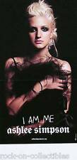 Ashlee Simpson 2005 I Am Me Black Promo Poster Original