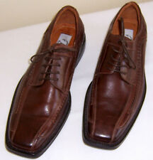 MENS BATA BROWN LEATHER  MADE IN CHINA LACE UP SHOES SZ-41