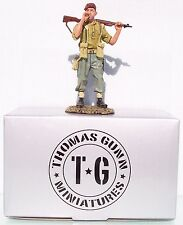 THOMAS GUNN WW2 BRITISH NORMANDY GC008A THE REBEL PARATROOPER SMOKING MIB