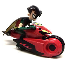 """DC Comics Batman de Teen Titans Robin's Flying Motocicleta 5"""" Figura Juguete Raro"""