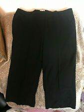 Smart office work school tailored black trousers plus size 32 simply be