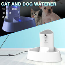 Pet Water Fountain LED Automatic Electric Cat Dog Drinking Dispenser Filter