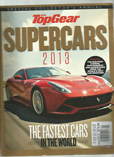 BBC TOP GEAR MAGAZINE SUPERCARS 2013 SPECIAL COLLECTOR'S ANNUAL