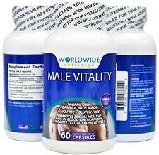Pastillas Para Aumentar Testosterona Y Potencia Sexual Masculina - Para Hombre