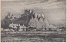 E0024 Roccella Jonica (RC) - Panorama - 1921 stampa d'epoca - Vintage Print