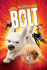 Disney Bolt (DVD, 2009) John Travolta Miley Cyrus Region 4 EX Condition