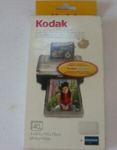 Kodak EasyShare PH-40 Color Cartridge & Photo paper Kit 4x6