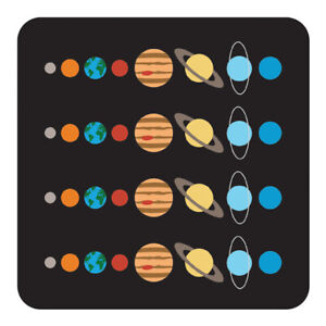 Space Cork Coaster - Solar System