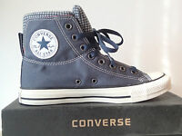 CONVERSE ALL STAR - CT DUAL COLL HI CHUCK TYLOR 128107C ALTE TELA CANVAS BLU