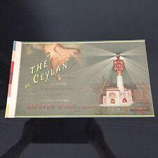 Etiquette Habillage Boîte LU Lefèvre Utile Thé Ceylan Expo Universelle 1900
