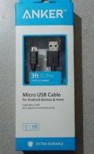 Anker  A7103 Micro USB Cable/ Android Devices, 3Ft.