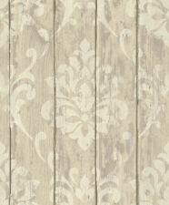 Tapete Vlies Ornament Holz Glanz beige Rasch Indian Summer 625943 (3,93€/1qm)