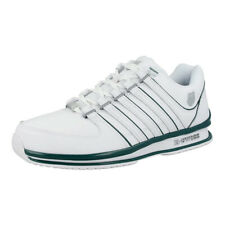 K Swiss Rinzler Sneakers White Posy Green Men Leather Trainer Shoes