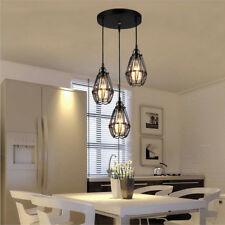 3Permo Bird Cage Ceiling Vintage Retro Chandelier Rose Pendant Lamp Cover Light