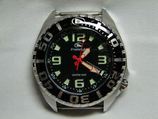 "MENS FREESTYLE ""BLACK TIP SHARK II"" WATCH WITH NO BAND"