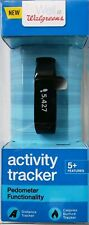 Well at Walgreens Activity Tracker Pedometer Functionality Black 5+features