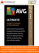 AVG Ultimate 2020 - 10 Devices - 2 Years (Digital Download)